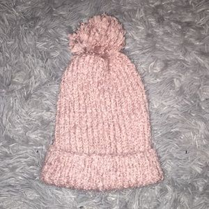 Mossimo Supply Co Pink Beanie & Infinity Scarf